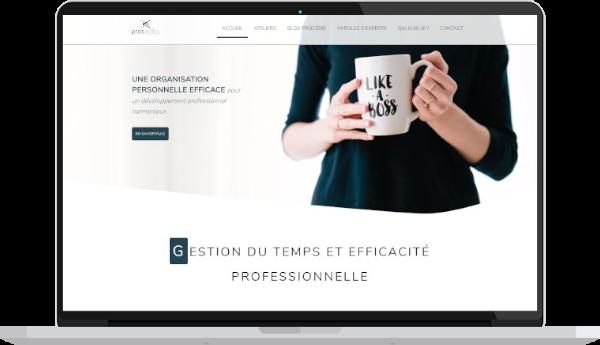 création de site internet consultant
