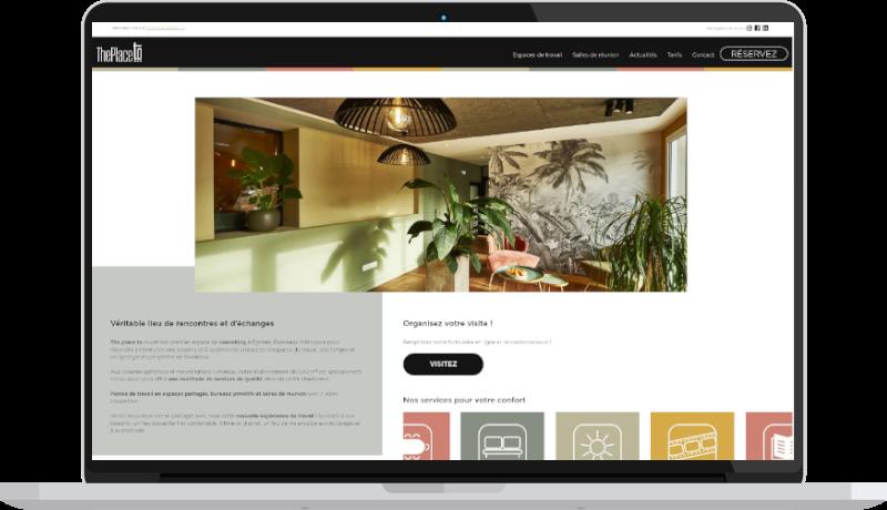creation site internet coworking